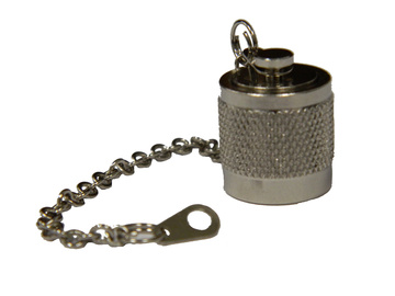 TNC Male Dust Cap with Chain